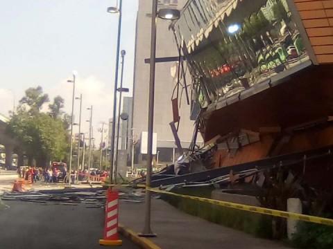 Sobrepeso de terraza habría provocado derrumbe en 'Artz Pedregal'