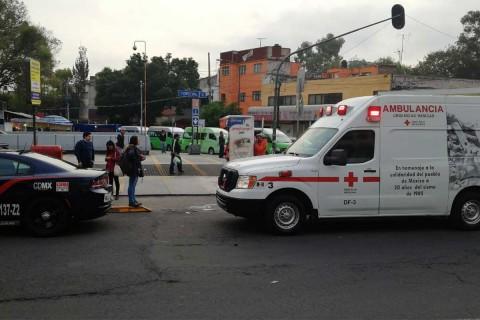 Una mujer de 60 años de edad murió tras arrojarse al paso del convoy del metro en la estación Normal de la línea 2