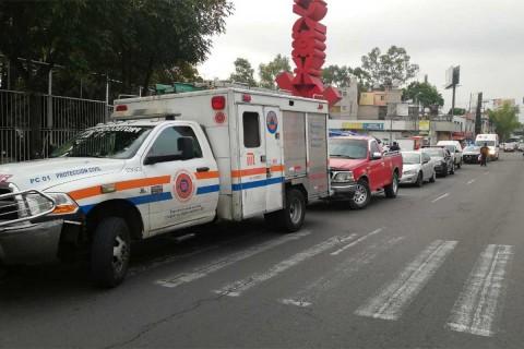 El incidente se registró alrededor de las 7:30 de la mañana, en dirección a Taxqueña