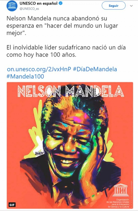 Sudáfrica predica fraternidad en centenario de Nelson Mandela
