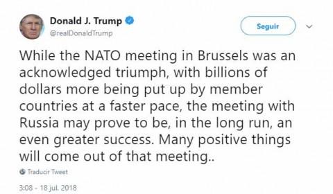 Trump anuncia que Rusia mediará en diálogo con Corea del Norte