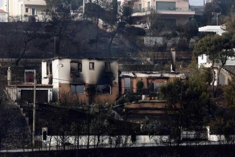 Hallan en Grecia a 26 personas muertas abrazadas entre sí en los incendios