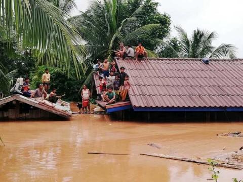 Tragedia en Laos por ruptura de presa; hay cientos de desaparecidos