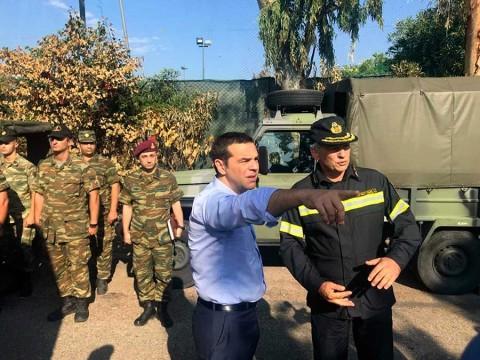 Ascienden a 91 los muertos por incendios en Grecia