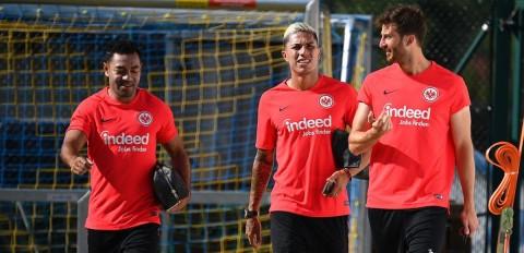 Marco Fabián, Carlos Salcedo, Eintracht Frankfurt, Alemania,