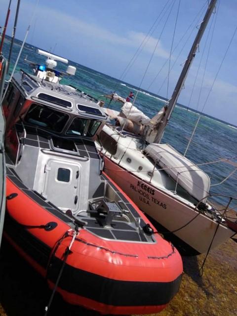 Marina, Rescate, Italianos, Seguridad, Quintana Roo, Velero