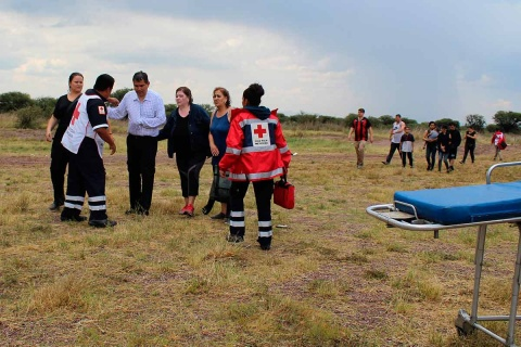 La Dirección General de Aeronáutica Civil (DGAC), que investiga las causas del accidente aéreo en Durango. Foto: AP