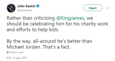 Trump se burla de Lebron James y le llueven críticas