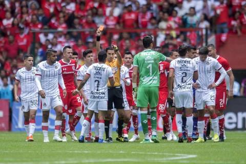 Chivas Toluca conato de bronca