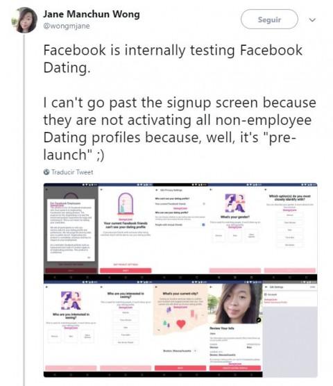 Facebook agregará una nueva herramienta para encontrar pareja