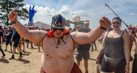 Ancianos escapan de asilo para ir a festival de rock