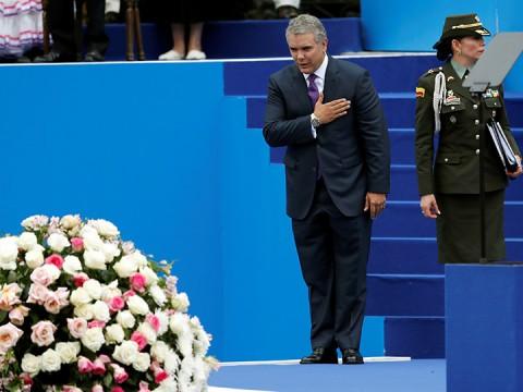 Iván Duque asume como nuevo presidente de Colombia (Foto: Reuters)