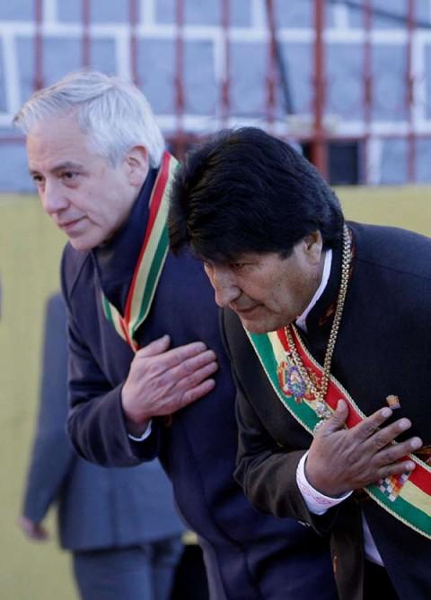 Roban la banda presidencial de Evo Morales