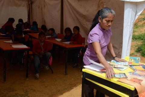 En los estados de Oaxaca, Chiapas, Veracruz, Puebla, México y Yucatán habitan 6 de cada 10 indígenas. Foto archivo: Cuartoscuro