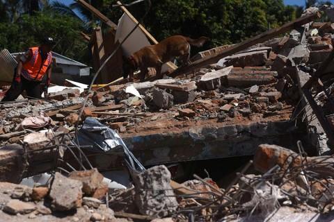 Contabilizan 131 muertos en Indonesia tras sismo