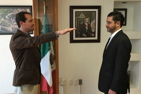 Andrew Jhon Rhodes Espinoza es biólogo por la Universidad de las Américas de Puebla; Desde 2011 ocupó posiciones ejecutivas en la Conanp. Foto: Especial