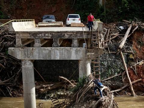 Elevan a 1,400 la cifra de muertos por el huracán 'María' (Foto: Reuters)