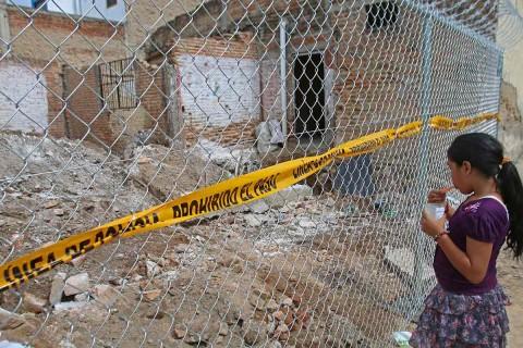 El pasado martes, 10 cadáveres fueron encontrados en una casa del municipio de Tlajomulco. Foto: Cuartoscuro