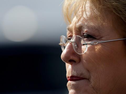 Michelle Bachelet: 'Cumpliré con toda mi fuerza' (Foto: AP)