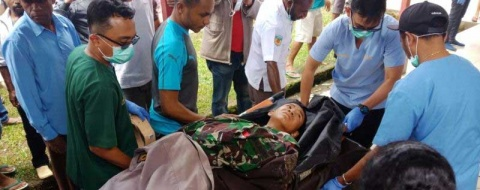 Choque de avión en Indonesia deja 8 muertos; niño sobrevive