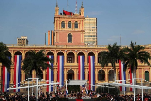 Mario Abdo Benítez asume como nuevo presidente de Paraguay