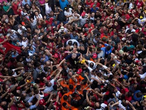Registran a Lula como candidato presidencial (Foto: Reuters)