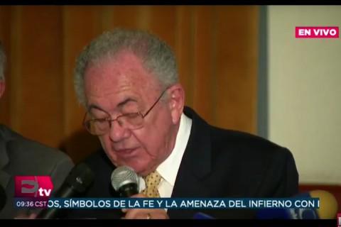 Javier Jiménez Espriú, propuesto como próximo titular de Comunicaciones y Transportes. Foto: Especial