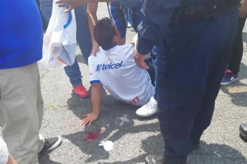 Cruz Azul, Bronca, León, Porras,