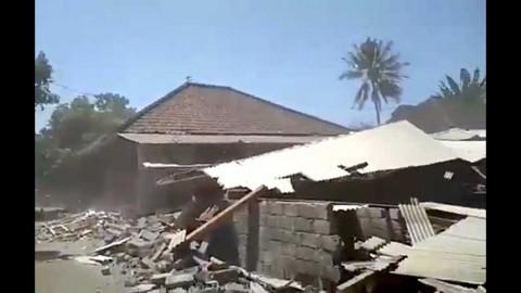 Dos sismos consecutivos azotan Indonesia; se reportan daños
