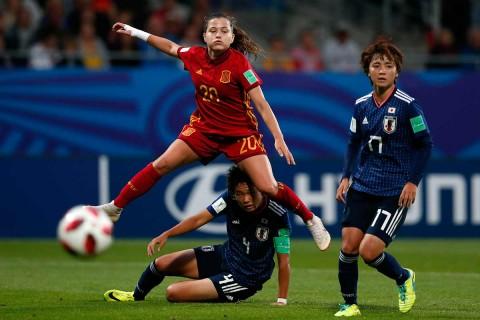 Mundial Femenil, España, Japón, Francia