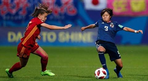 Mundial Femenil, España, Japón, Final,