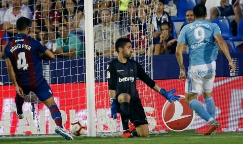 Celta Vigo, Maxi Gómez, Liga España, Levante,