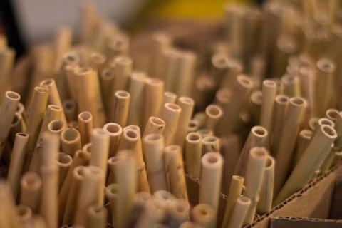 El proyecto Chika Tiki busca promover el uso de popotes hechos con carrizo en sustitución de los hechos con plástico, mismos que dañan el medio ambiente y que afectan principalmente a las especies marinas indicó la creadora de esta iniciativa, Aline Hunziker. Foto: Cuartoscuro