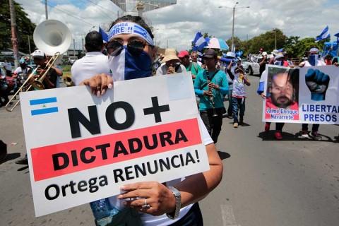 Ortega culpa a EU y al narco de crisis en Nicaragua