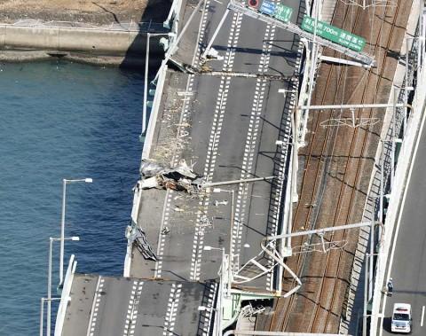 Suben a 10 los muertos en Japón por tifón 'Jebi'