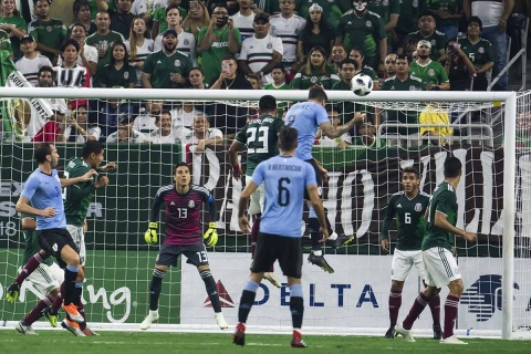 México Uruguay, Gol Giménez, Goleada, Amistoso,