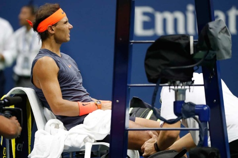 Rodilla Nadal, Del Potro, Final Us Open, Semifinales,