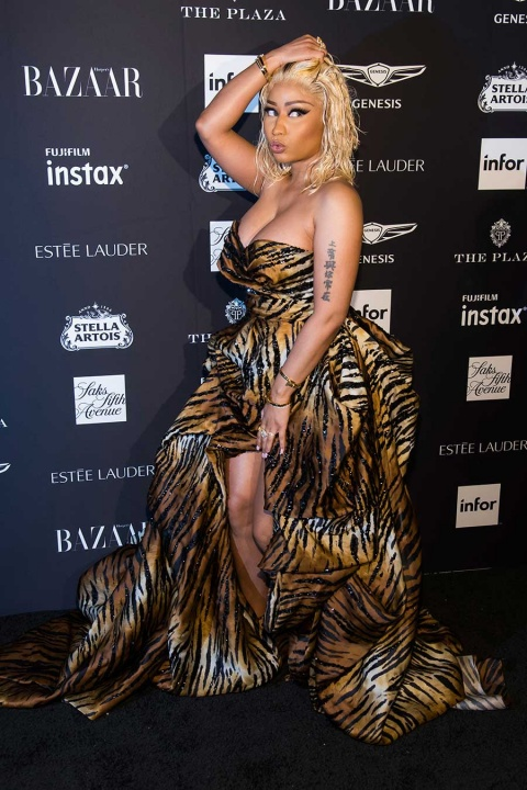 Cardi B se pelea con Nicki Minaj en fiesta y queda con chichón