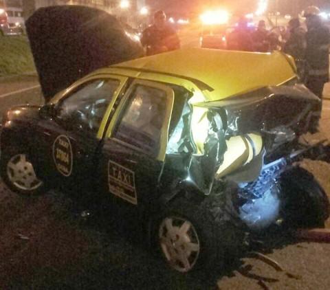 Dos Muertos, NahuelZárate, Boca Juniors, Choque Autos,