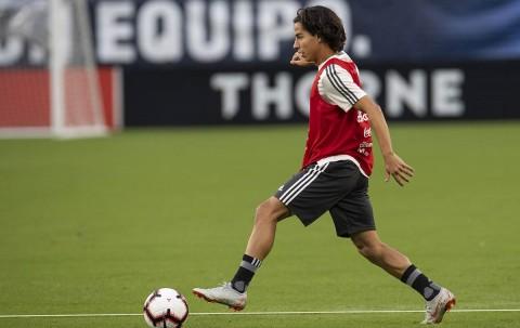 Diego Lainez, Selección Mexicana, Estados Unidos, Tricolor