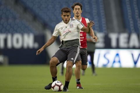 Jonathan Dos Santos, Selección Mexicana, Estados Unidos, Tricolor