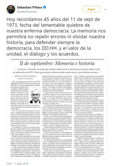Recuerda Chile golpe militar contra Salvador Allende