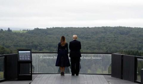 Trump enaltece a héroes del 11-S