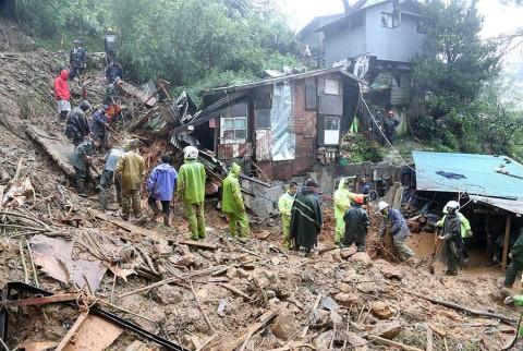 Filipinas reporta al menos 59 muertos por tifón 'Mangkhut'