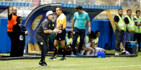 Maradona Debuta Dorados