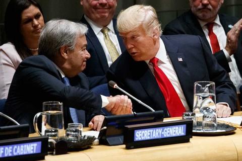En la ONU, Trump pide desmantelar produccion de drogas