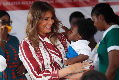 El misterioso viaje a África de Melania Trump en solitario