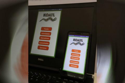 Las reglas ortográficas de Koatl están basadas en la Real Academia Española. Imagen tomada de Twitter: @IPN_MX
