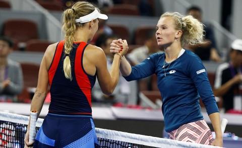 Caroline Wozniacki levantó el trofeo en China luego de ocho años