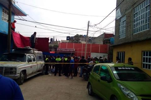 Balacera en tianguis de Chicoloapan deja cinco muertos y un herido